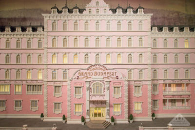 Grand Budapest Hotel model miniature musee Lyon