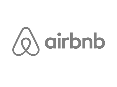 Airbnb logo new bw