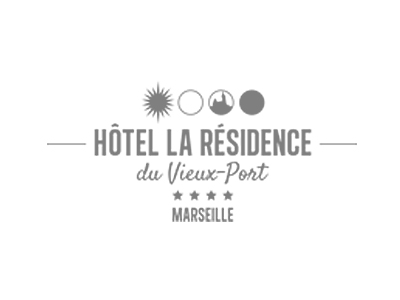 Hotel la residence du vieux port Marseille logo