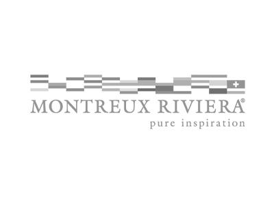 Montreux riviera tourism Switzerland logo