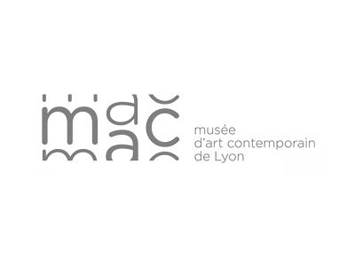 Musee d'art contemporain Museum of Contemporary Art Lyon logo