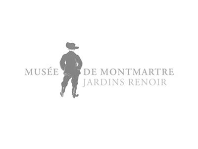 Musee de Montmartre Jardins Renoir Paris logo
