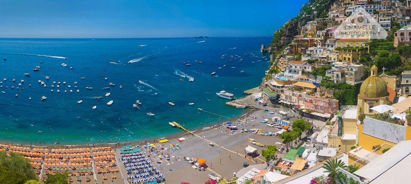 Chamelle Photography panorama Positano, Italy