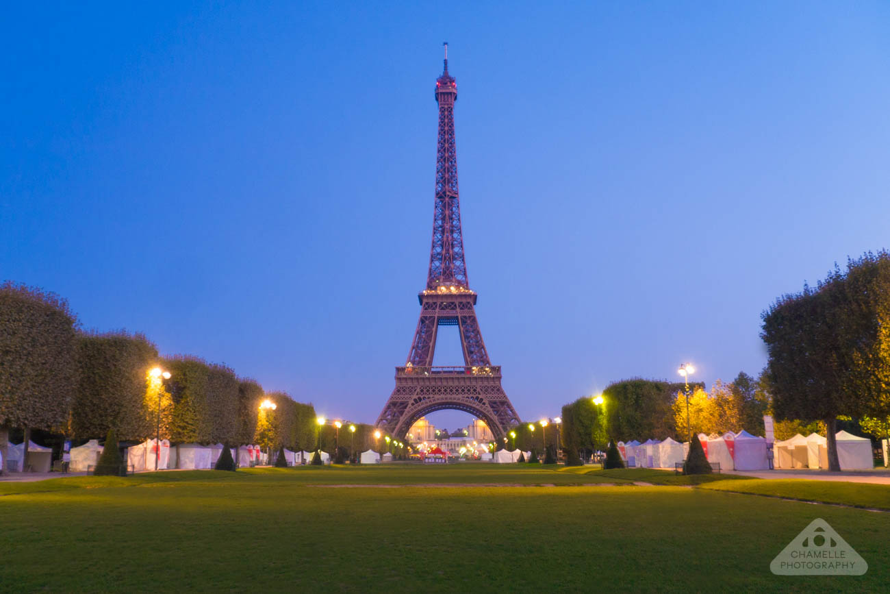 Champ de Mars Paris dawn