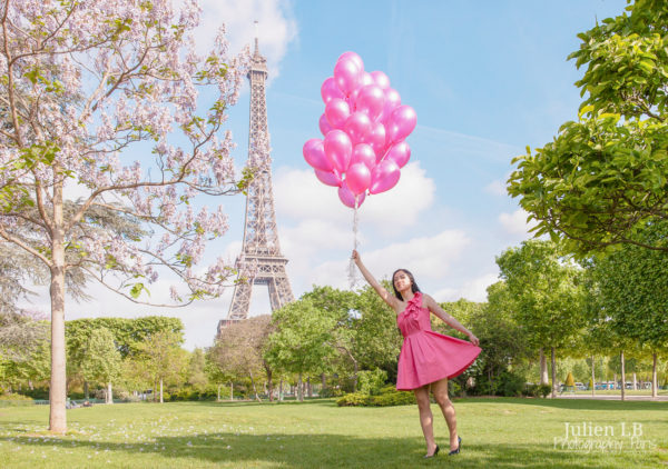 Paris Helium Balloons photoshoot