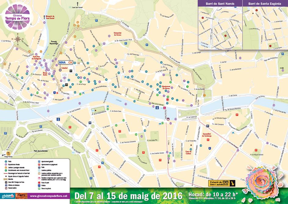 Travel Girona Temps de Flors Flower Festival Chamelle Photography