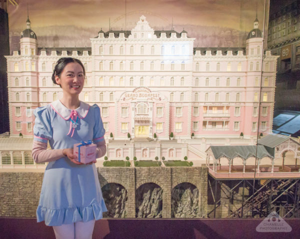 Grand Budapest Hotel miniature film set exhibition Fantastic Mr Fox Lyon musee