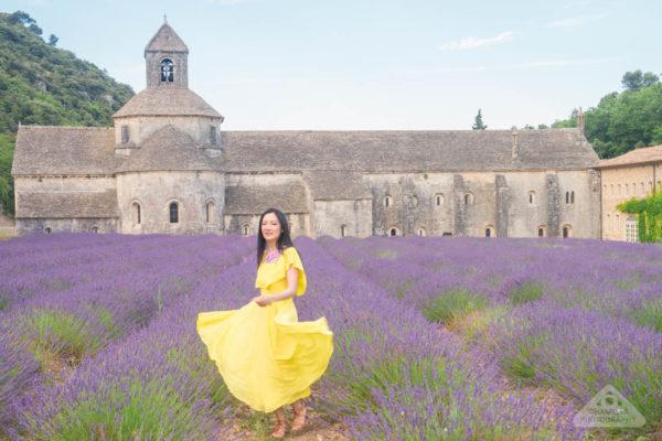 Abbaye Senanque Gordes Abbey France lavender Provence 2:3