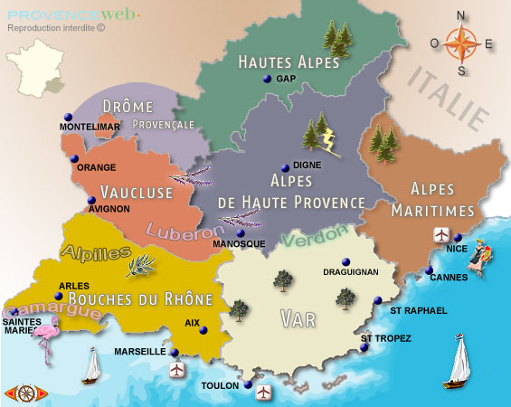 Provence Map Of France.Travel 10 Tips For Planning The Perfect Lavender Fields Of Provence