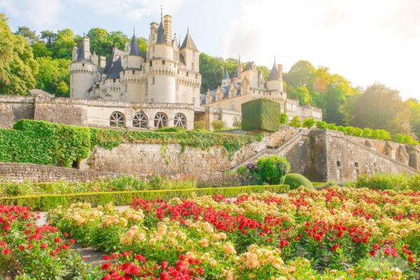 Chateau d'Ussé Loire Valley Sleeping Beauty Castle Chamelle Photography Travel