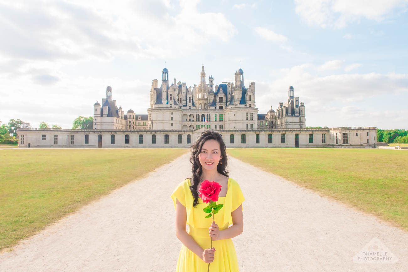 Chateau de Chambord Loire Valley Beauty and the Beast's castle