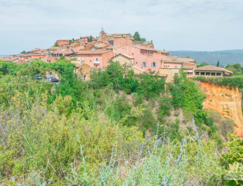 Travel: Why you need to visit the stunning red ochre town of Roussillon, France