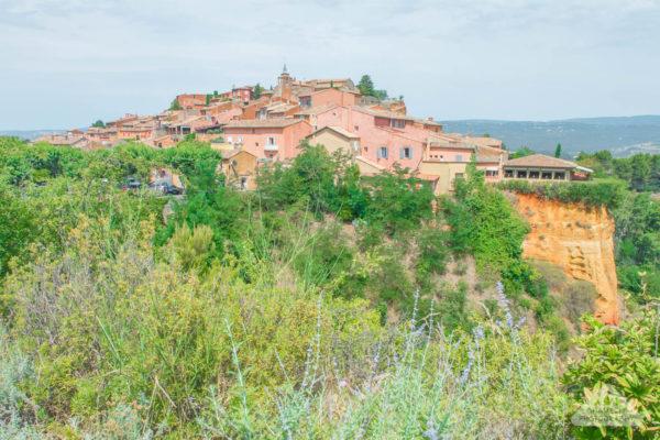 Travel Roussillon Luberon Provence France Sentier des Ocres lavender