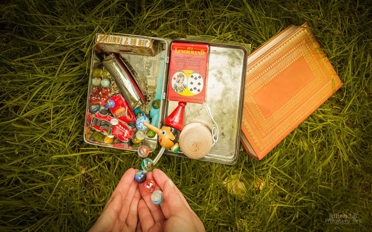 Amelie Poulain film locations Montmartre Paris France travel screenshots toy box tin toys Bretodeau Bredoteau