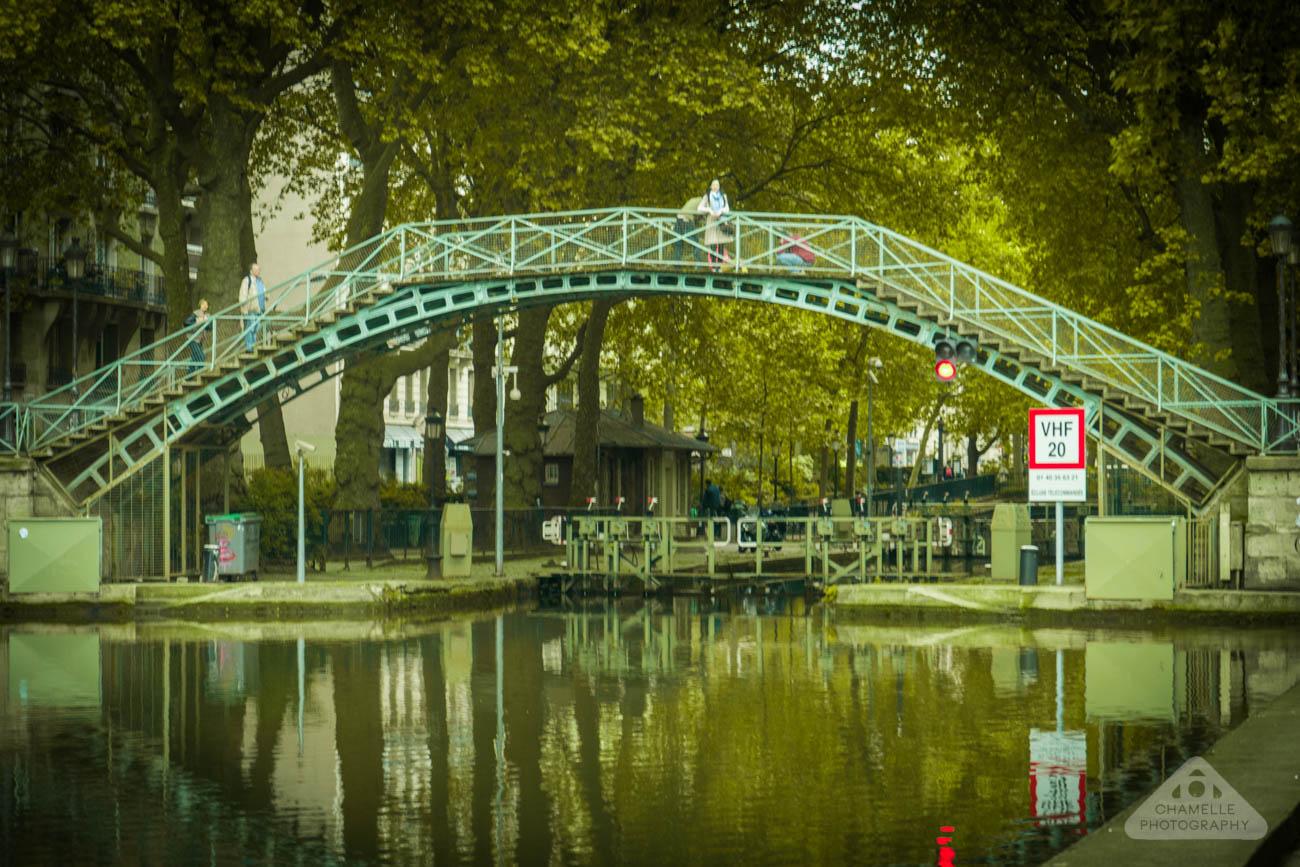 Amelie Poulain film locations Montmartre Paris France travel screenshots Canal Saint Martin