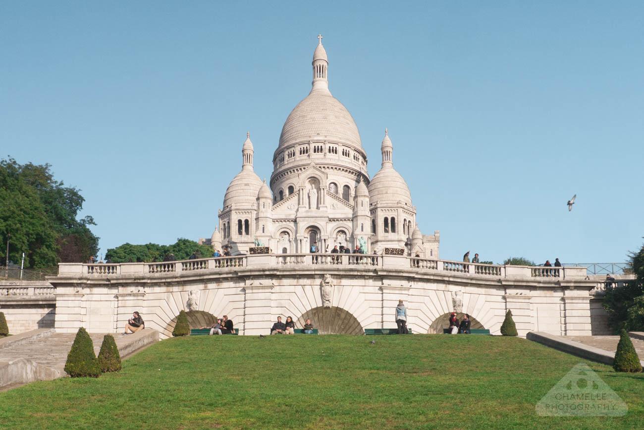 Sacre Coeur Basilica Montmartre Paris France travel basilique
