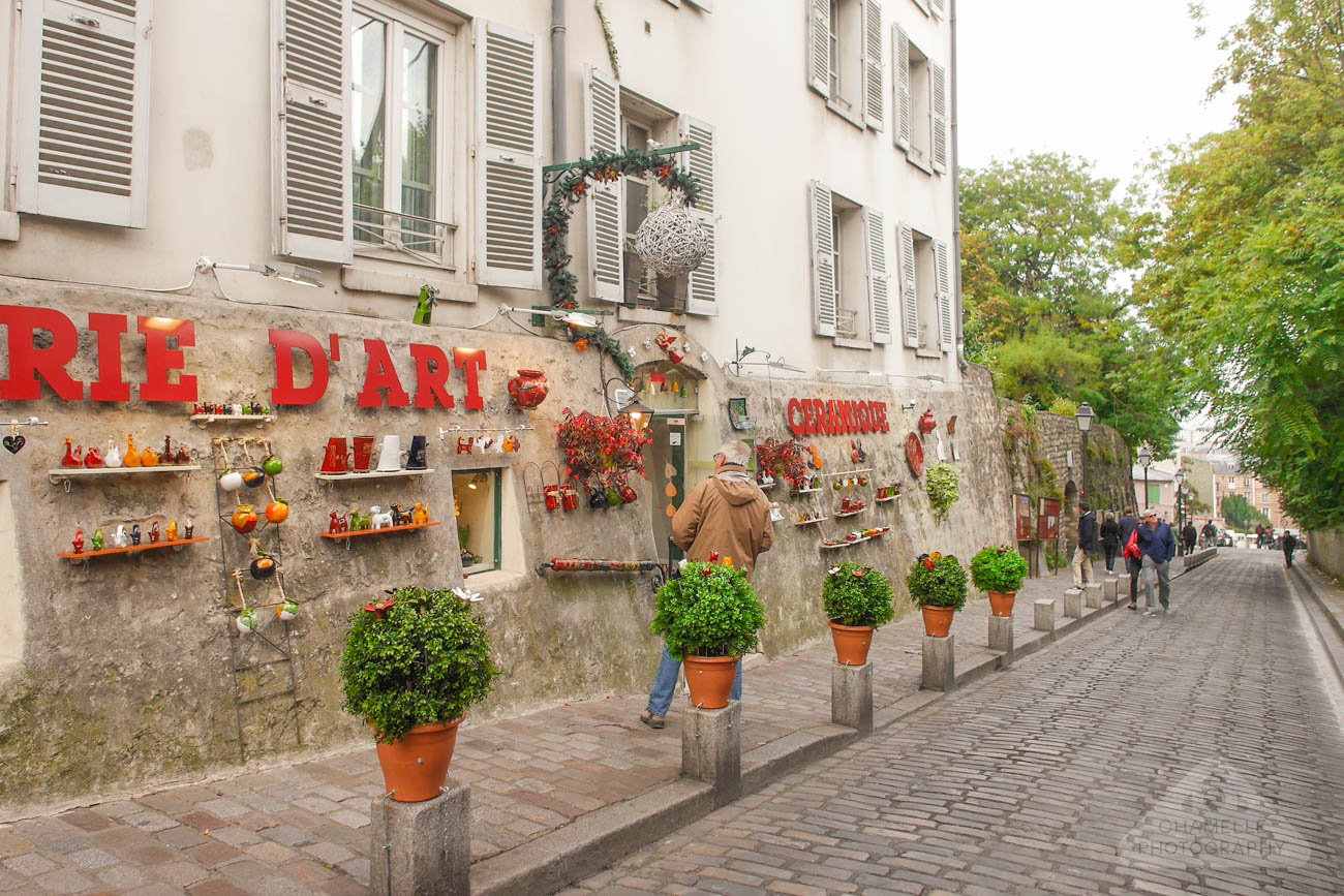 Amelie Poulain film locations Montmartre Paris France Rue des Saules