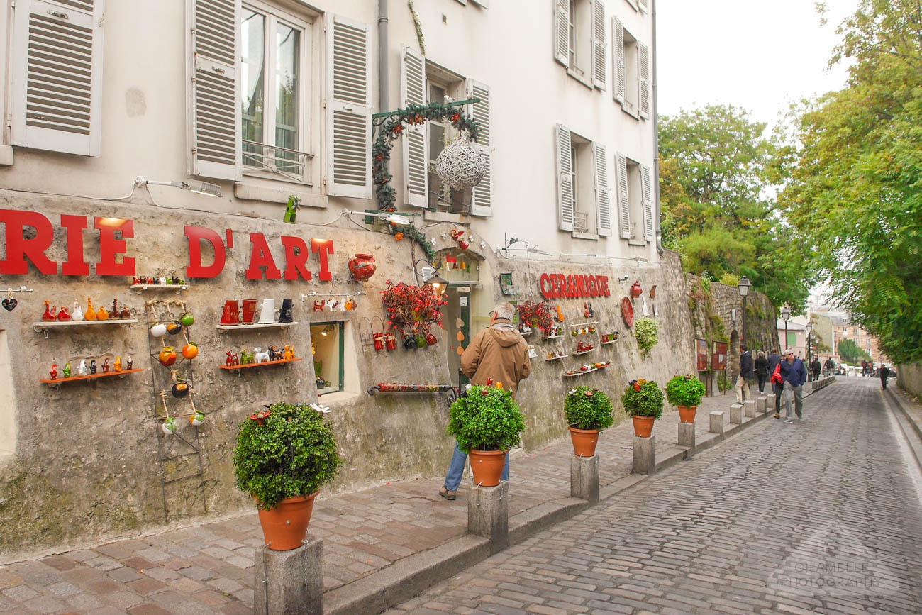 Amelie Poulain film locations Montmartre Paris France Rue des Saules