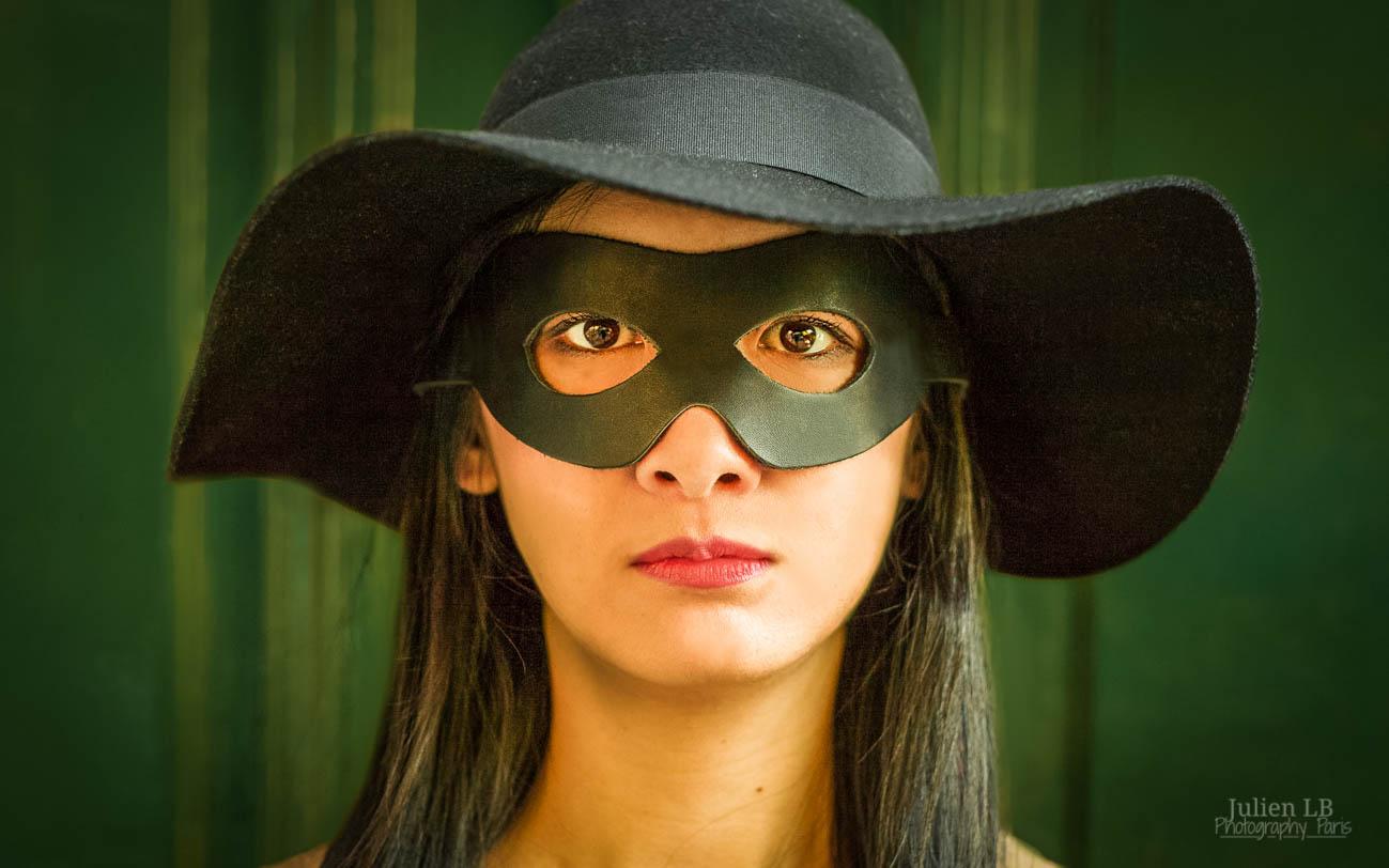 Amelie Poulain film locations Montmartre Paris France travel screenshots Zorro costume photoboth