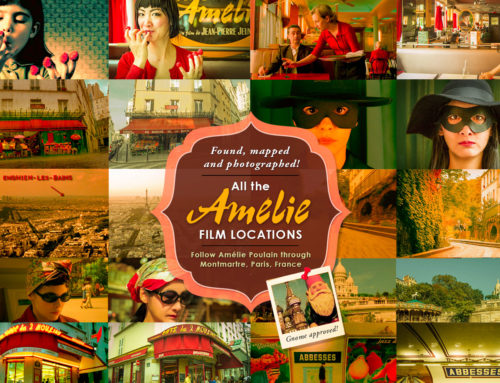 Amélie Poulain Film locations map: Montmartre Paris, Walking tour, Amélie inspired photoshoot and more!
