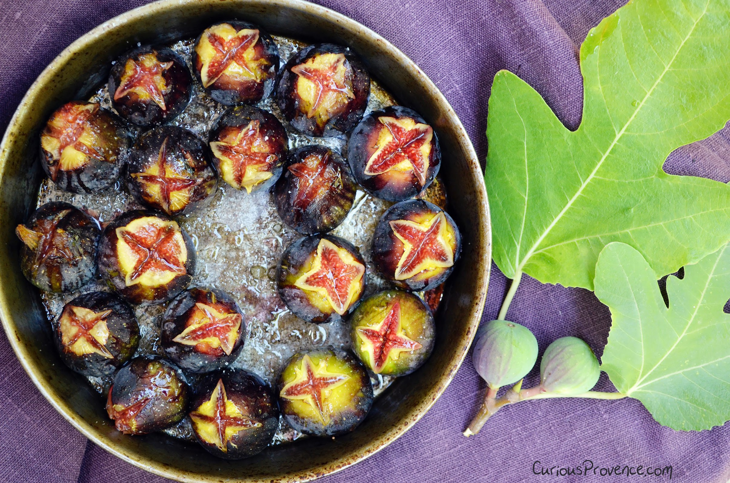 Ashley Curious Provence blog figs dish food