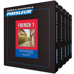 learn French Pimsleur French language learning CD 1-5