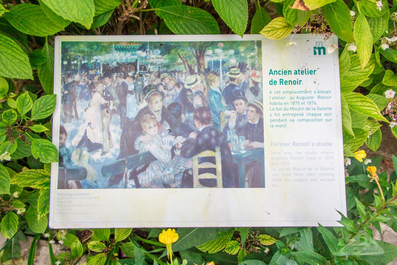 Musee Montmartre Museum Paris France travel blog photography Renoir