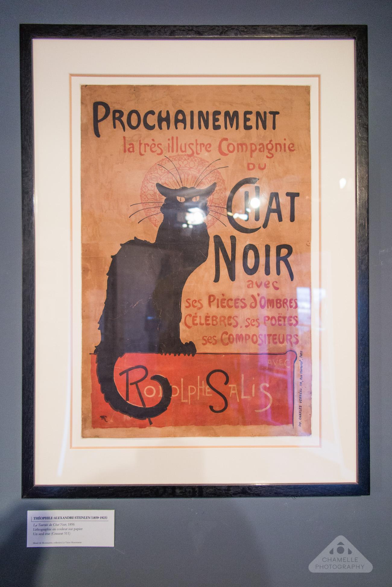 Musee Montmartre Museum Paris France travel blog photography Le Chat Noir Théophile Steinlen