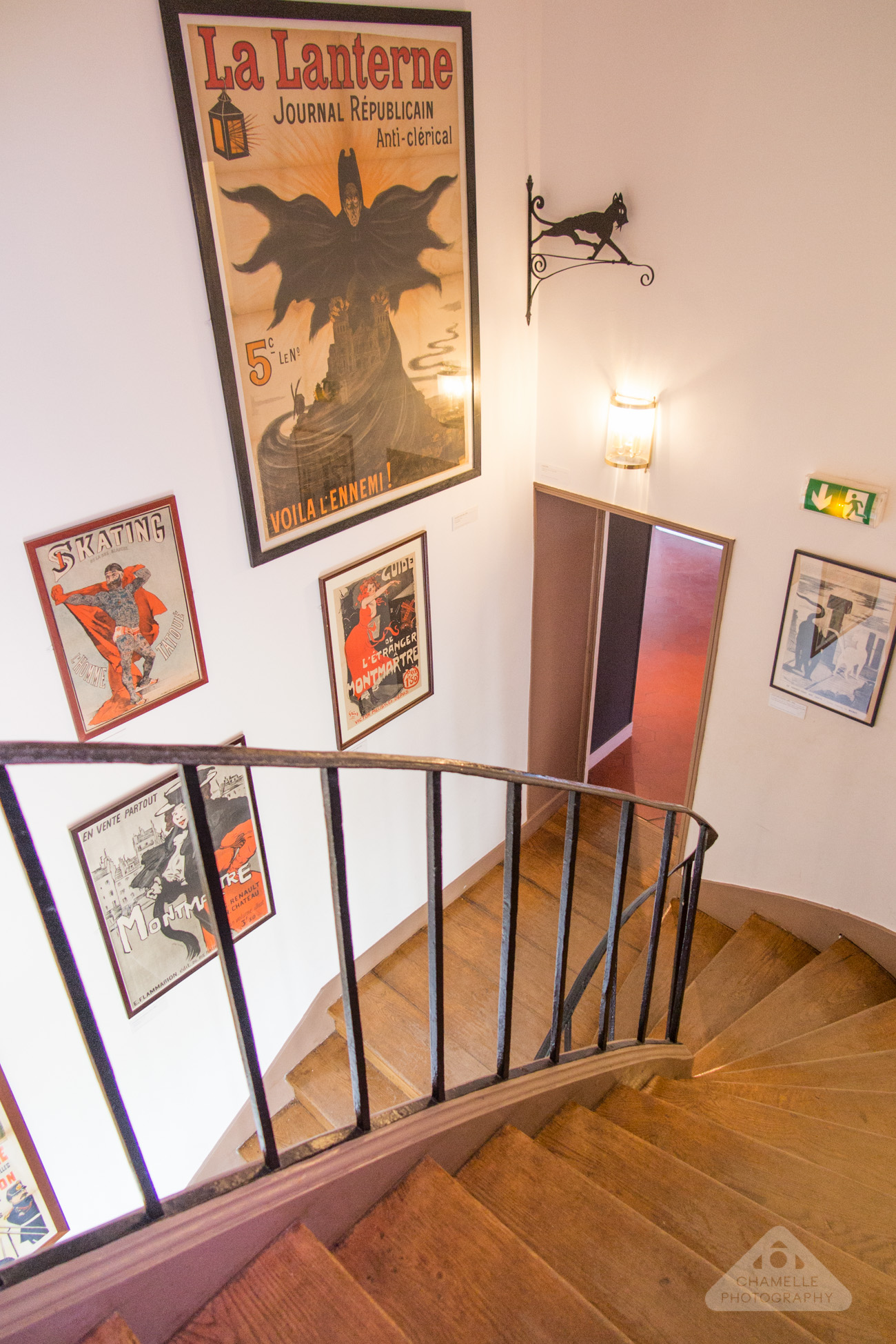 Musee Montmartre Museum film decor Paris France travel blog photography