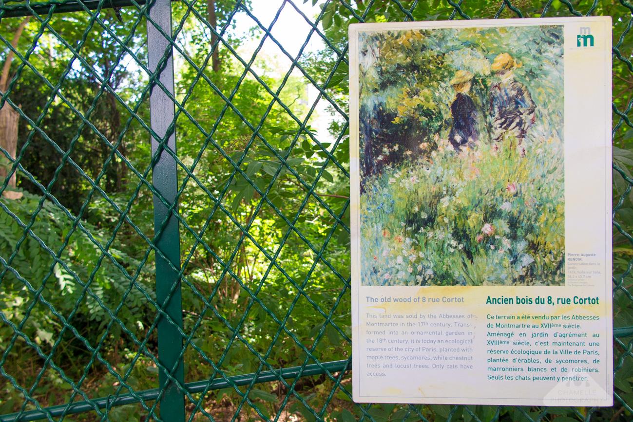 Musee Montmartre Museum film decor Paris France travel blog photography Renoir