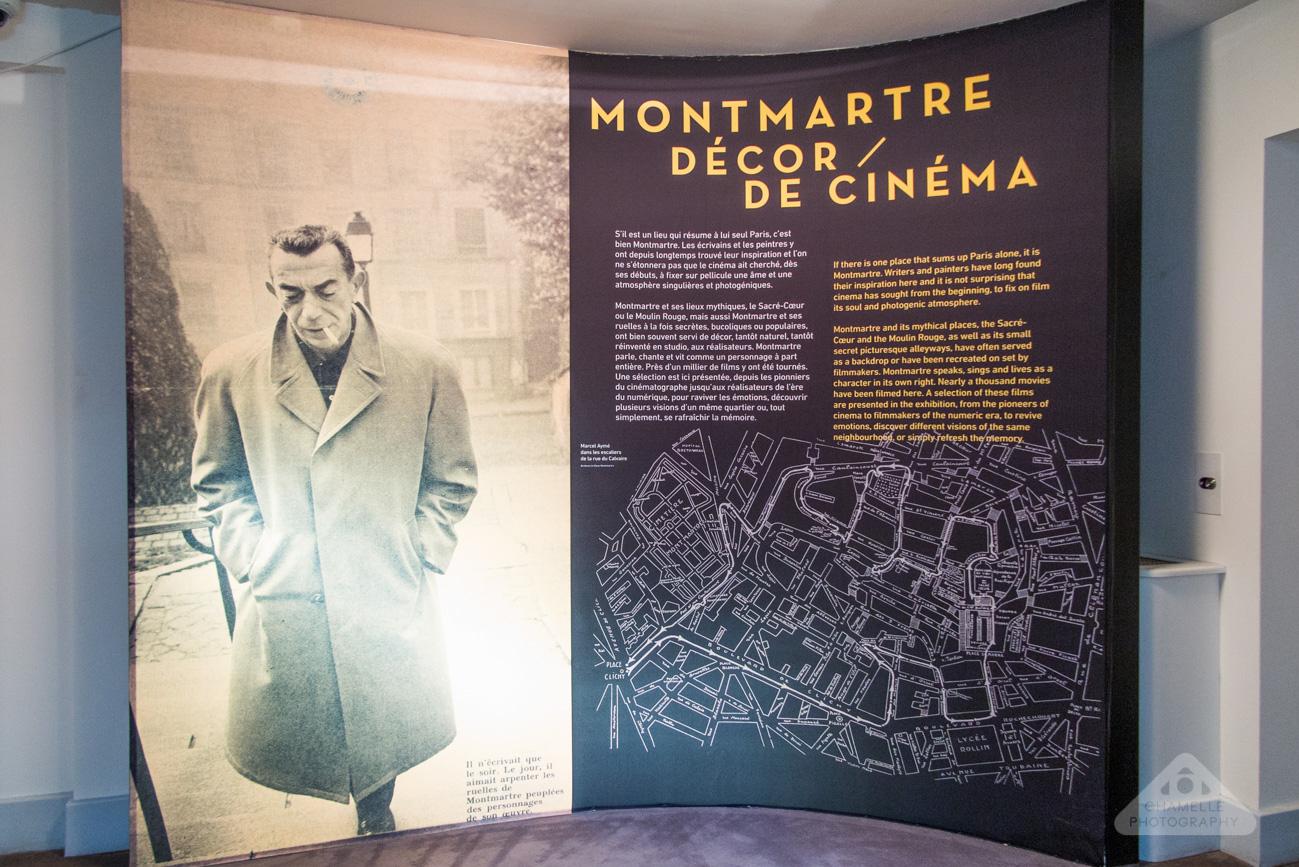 Musee Montmartre Museum film decor Amelie Paris France travel blog photography decor de cinema