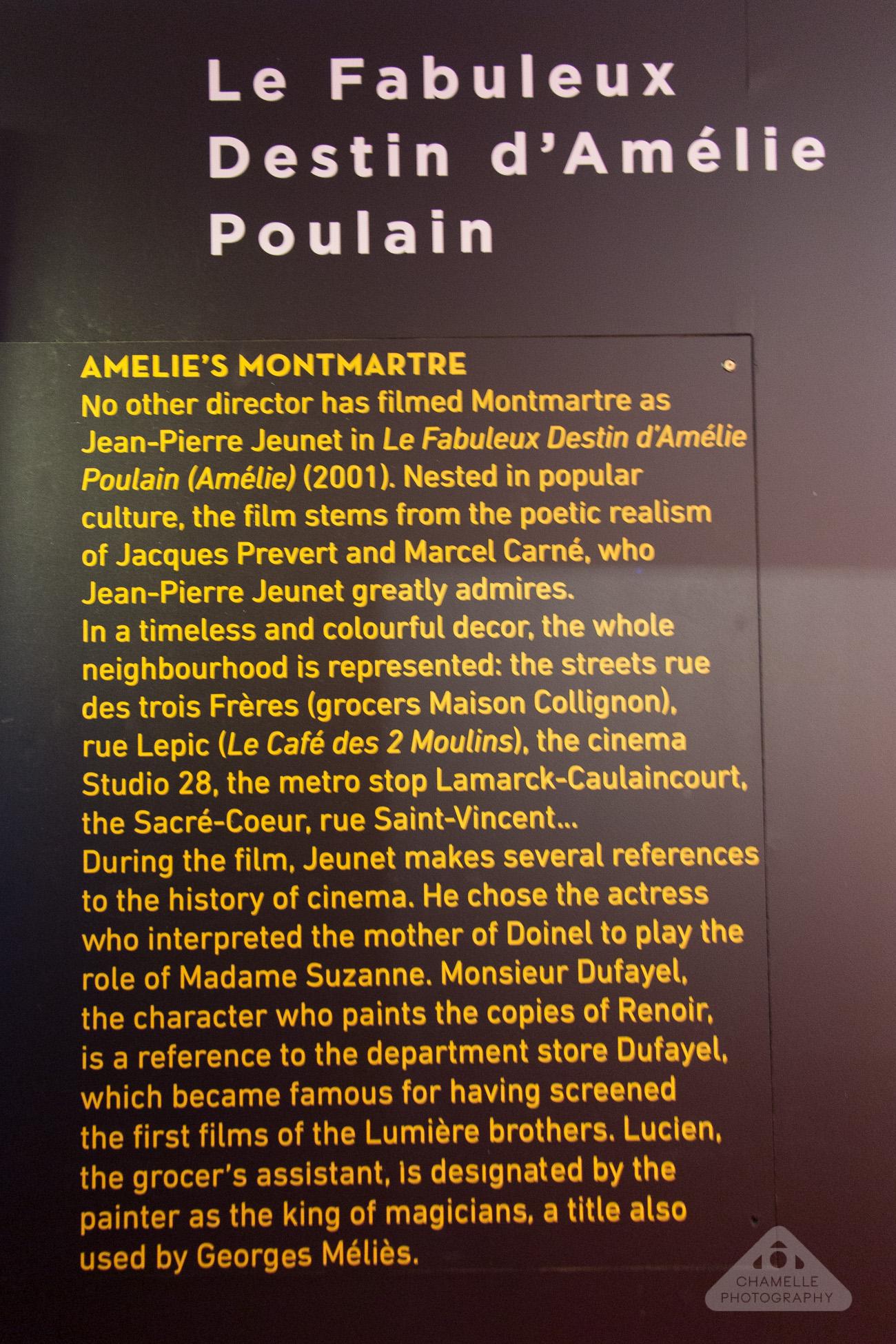 Musee Montmartre Museum film decor Amelie Paris France travel blog photography Amelie