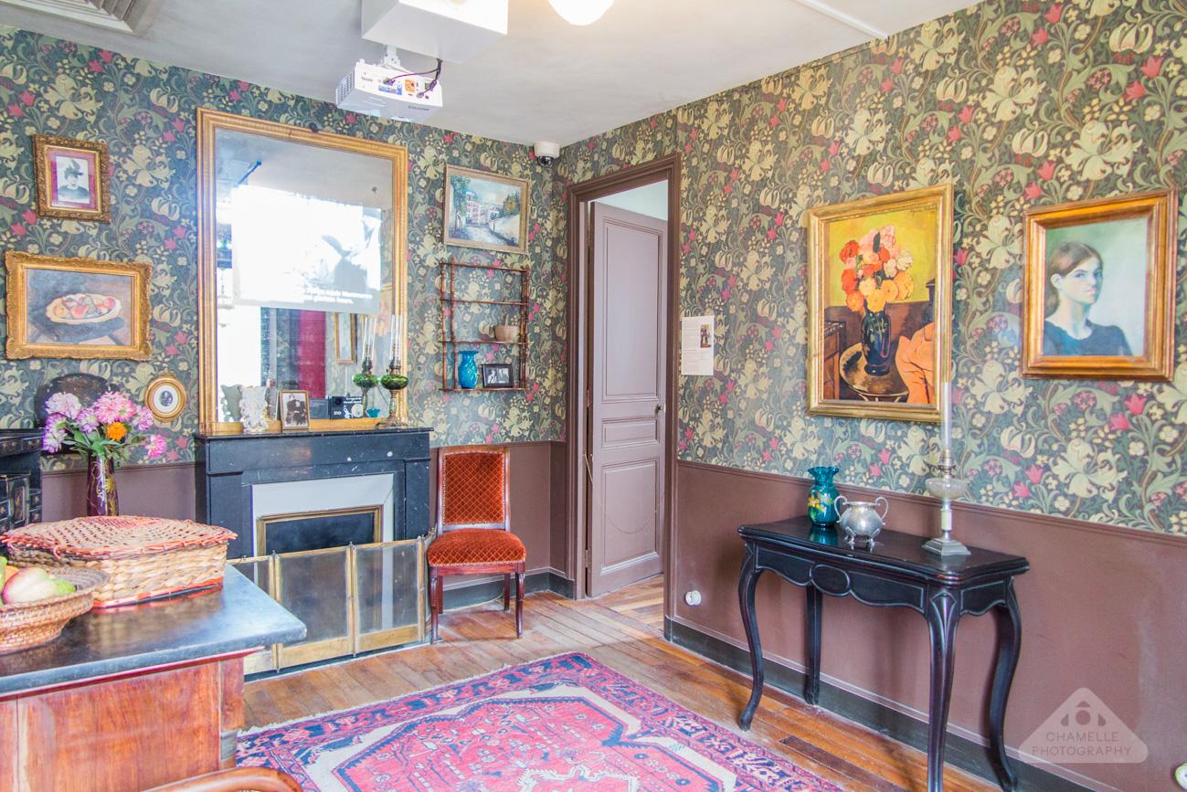 Musee Montmartre Museum film decor Amelie Paris France travel blog photography Suzanne Valadon