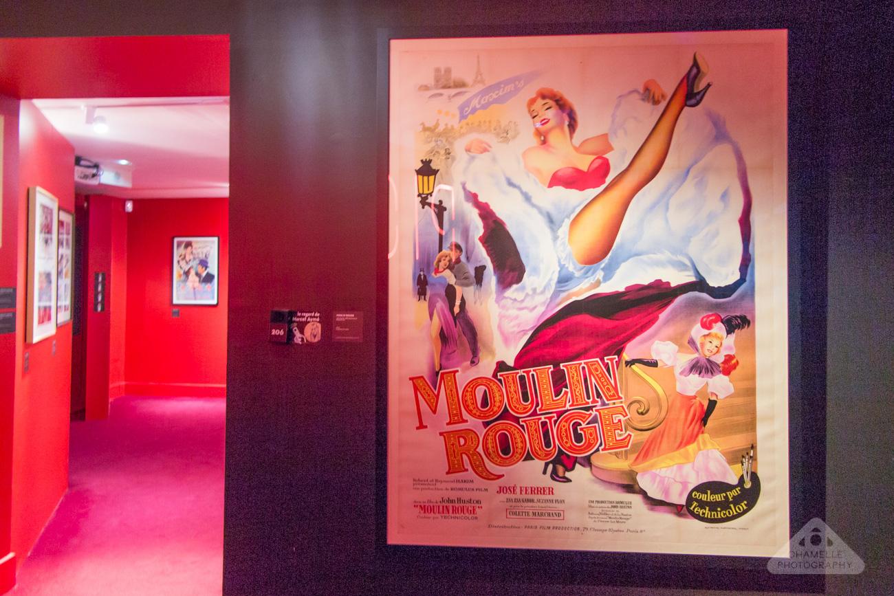 Musee Montmartre Museum film decor Amelie Paris France travel blog photography Moulin Rouge