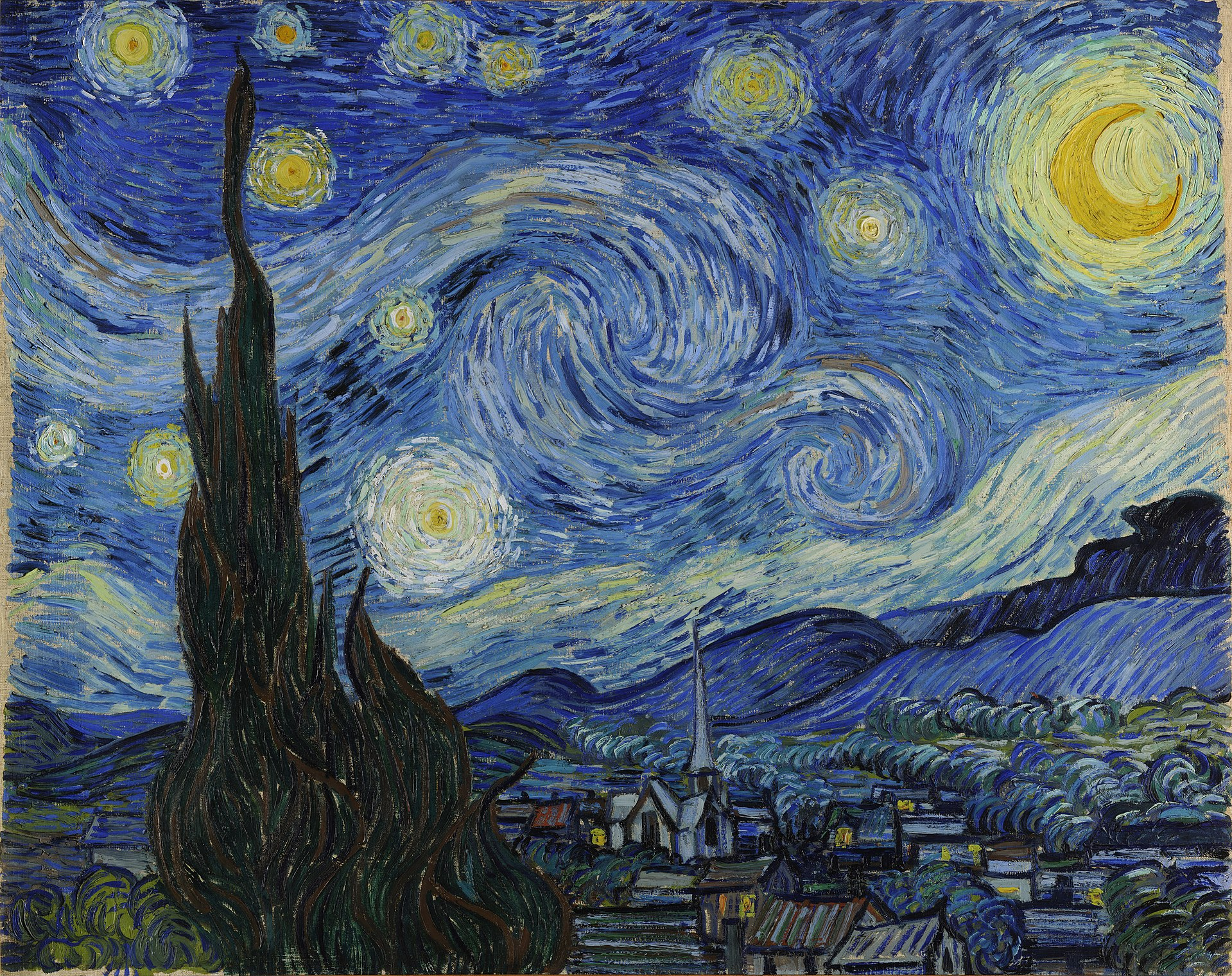 Van Gogh Starry Night La Nuit Etoilee Saint Paul Saint Remy travel