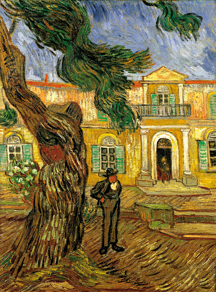 Loving Vincent Van Gogh trail footsteps Saint-Remy-de-Provence France Saint Paul de Mausole Asylum travel