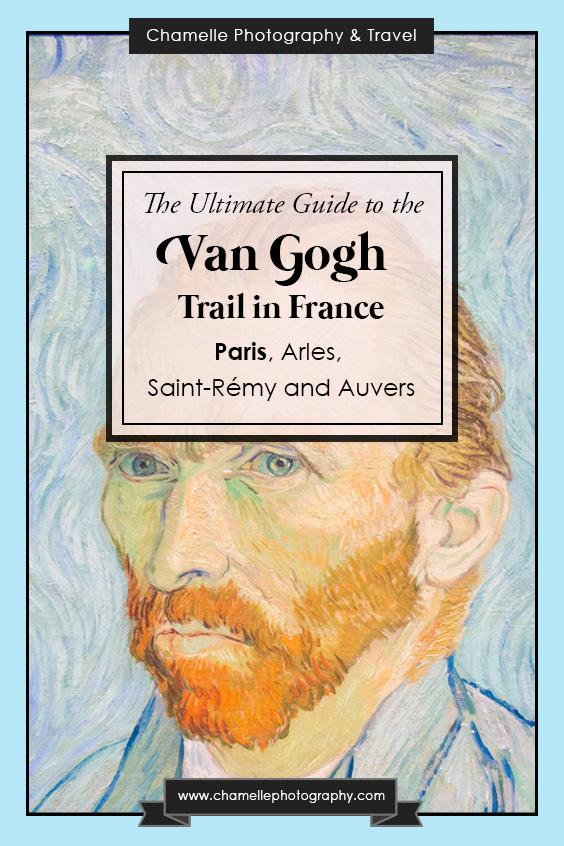 Van Gogh trail - Paris, Montmartre, Musee d'Orsay, France - Chamelle photography travel blog