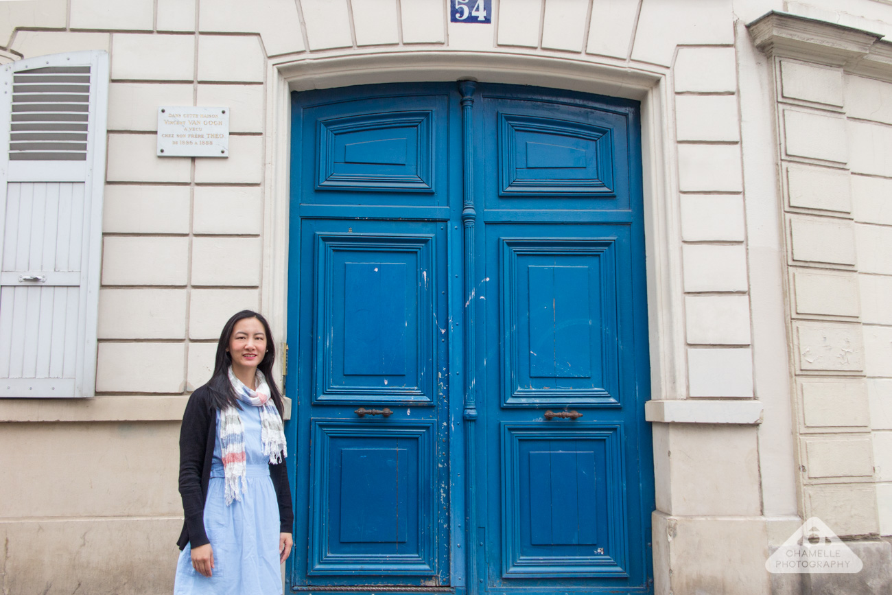 54 rue lepic, montmartre, paris, france- house of vincent and theo van gogh - travel blog