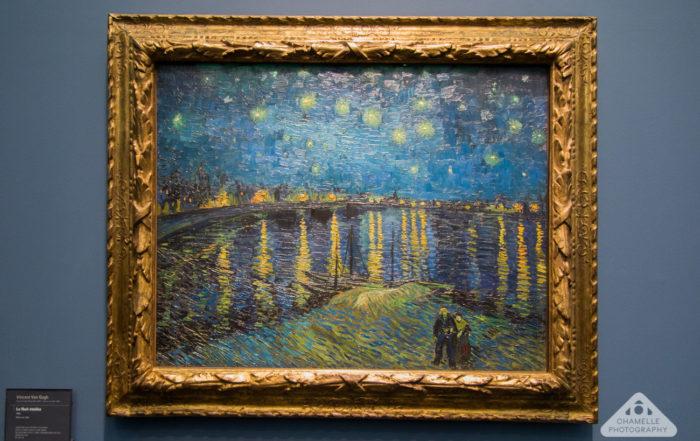 Van Gogh Starry Night La Nuit Etoilee Musee d'Orsay Paris travel blog