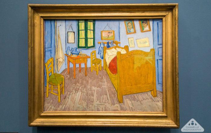 Van Gogh Bedroom at Arles at Musee d'Orsay Paris travel blog