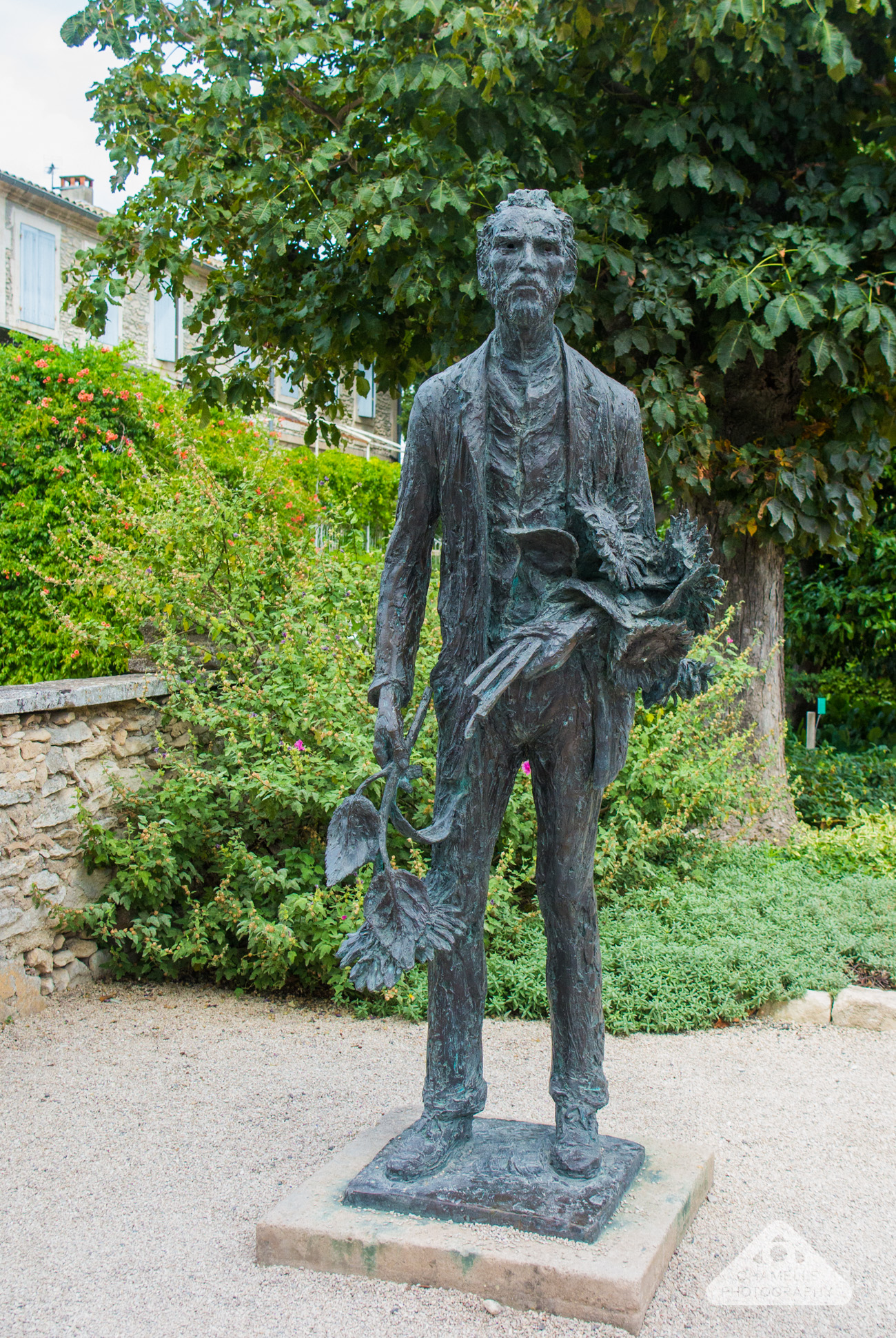 Loving Vincent Van Gogh trail footsteps Saint-Remy-de-Provence France Saint Paul Mausole - Chamelle photography travel blog