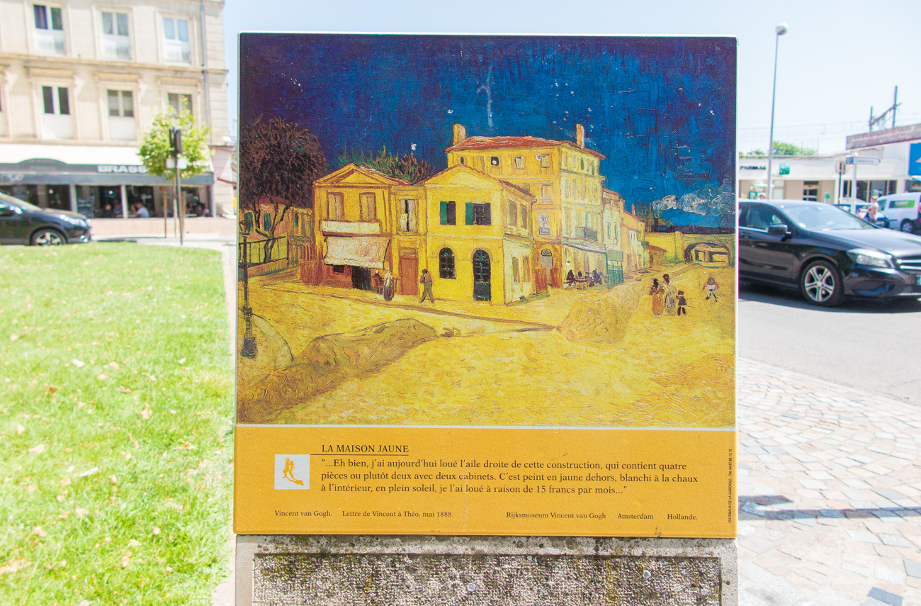 The Van Gogh trail in Provence and Paris, France (Part I: Arles ...