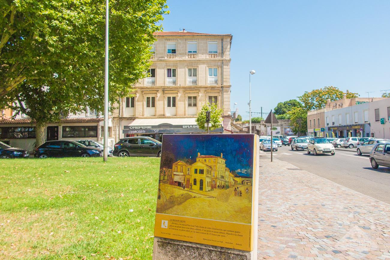 Vincent Van Gogh Tour Yellow House Maison Jaune Arles France Travel Blog