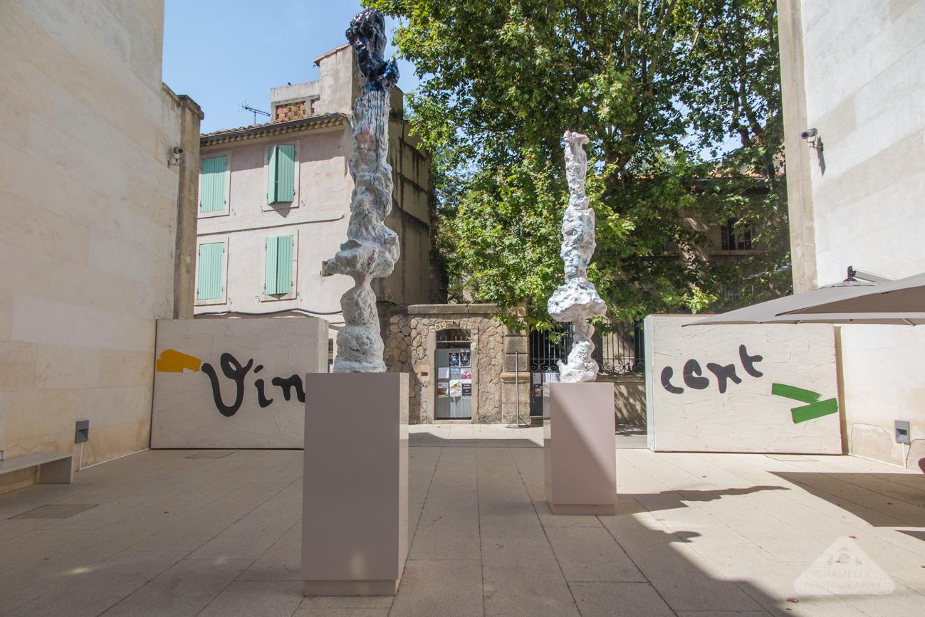Fondation Vincent Van Gogh art museum trail footsteps Arles Rencontres photo France travel blog