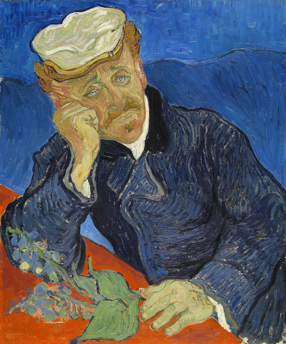 Vincent Van Gogh Docteur Doctor Paul Gachet Auvers-sur-Oise travel blog