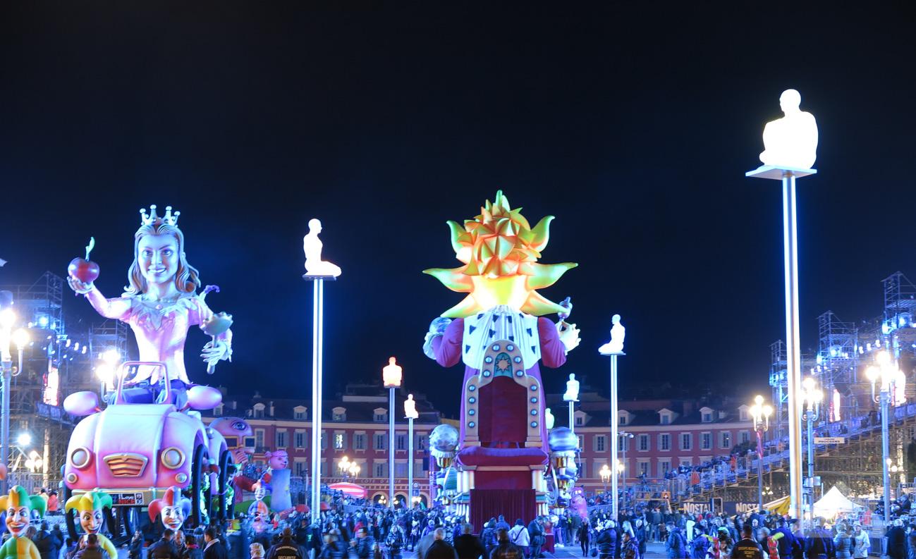 Desfile de carnaval em Nice