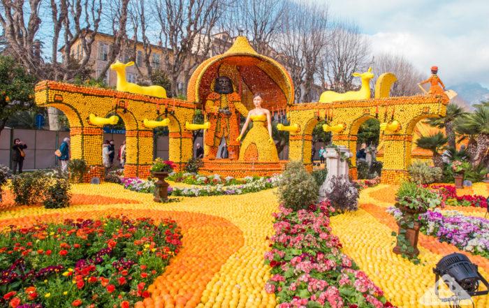 Menton Fete du Citron / Lemon Festival - Citrus festival - France - Chamelle Travel photography blog