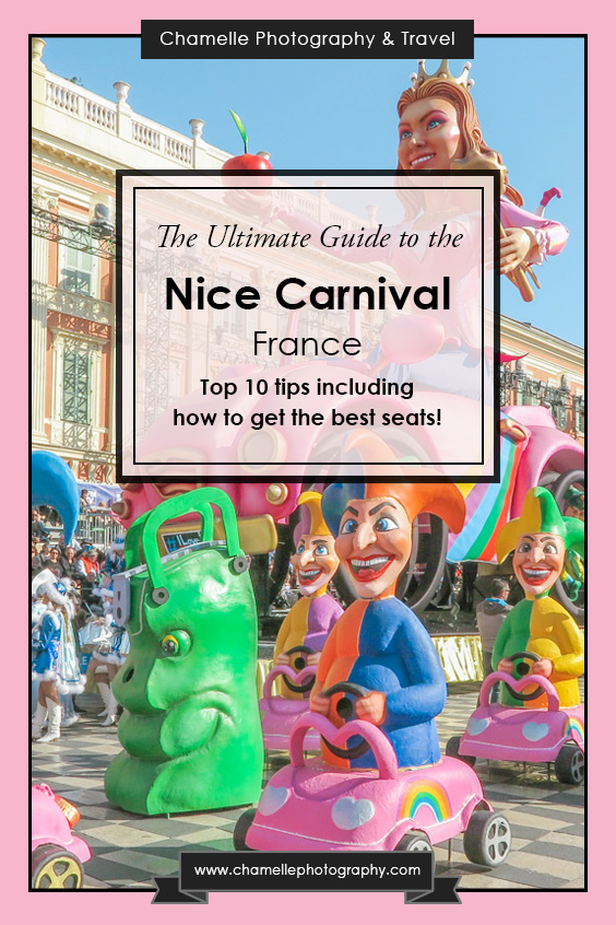 Top 10 tips Guide to the Nice Carnival / Carnaval de Nice France - travel blog