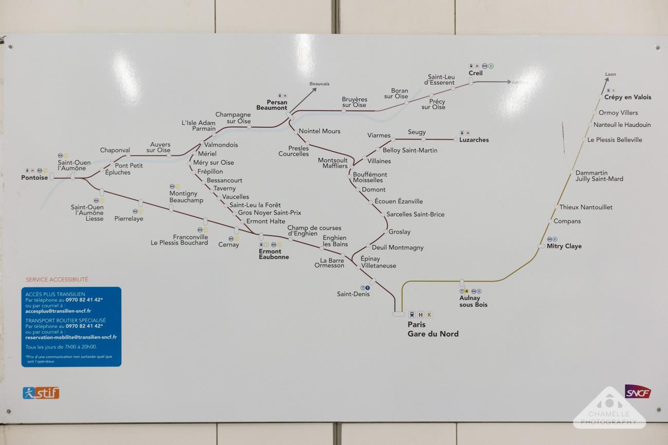 city trail du valois