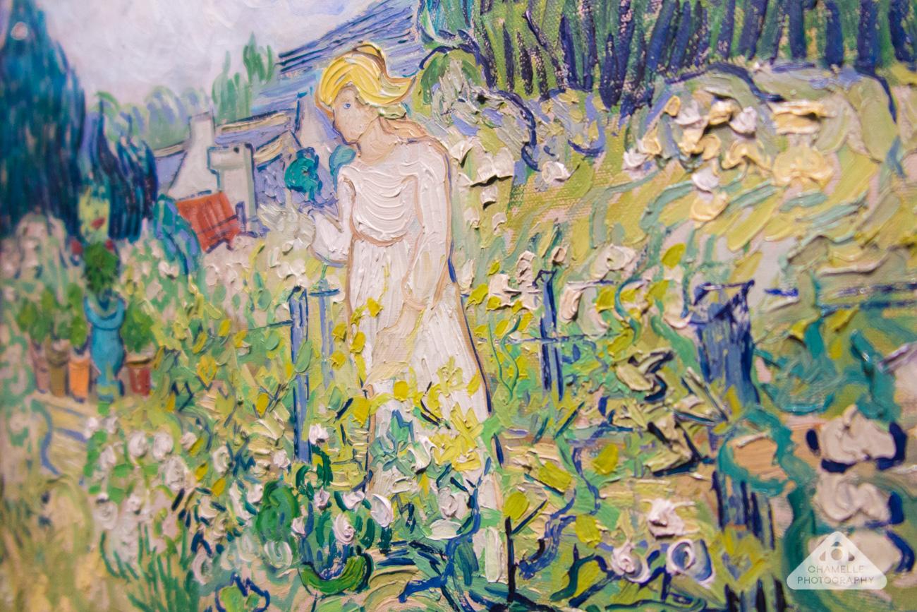Vincent Van Gogh Marguerite Gachet Jardin Garden Auvers Sur Oise Travel  Blog. U0027